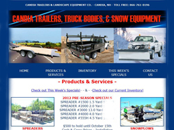 candia equipment trailers snowplows nh