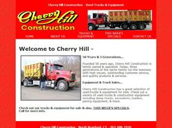 cherry hill trucks equipment web site