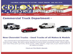 colonial chevy trucks chevrolet truck acton mass