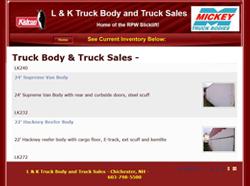 lk truck bodies sales website