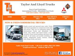 taylor lloyd trucks truck sales website bedford mass