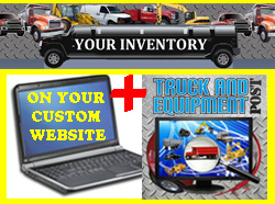 truck equipment internet advertising listing
